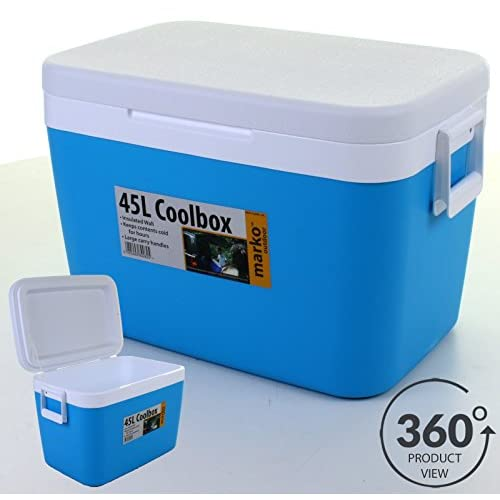 51zZWvWCJTL. SS500  - Marko Insulated Portable Cool Box, 45 Litres