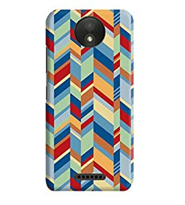 Motorola Moto C Plus Back Cover Designer 3d printed Hard Case Cover for moto c plus by Gismo - Abstract Designer patternb Theme