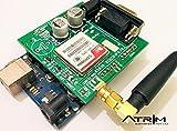 Atrim Electronics Arduino GSM Shield - Industrial Grade GSM Modem (Green)