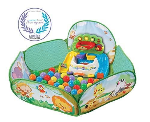 VTech-VTech-506205-Pop Piscine à Balles Interactive, 506205, Multicolore, Taille Unique