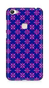 Amez designer printed 3d premium high quality back case cover for Vivo X6 (Flower Pattern1)