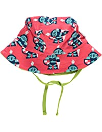 Maxomorra Sun Hat With Cord - Knight