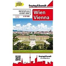 Wien Riesenplan, Stadtplan/Buch 1:12.500, freytag & berndt Stadtpläne