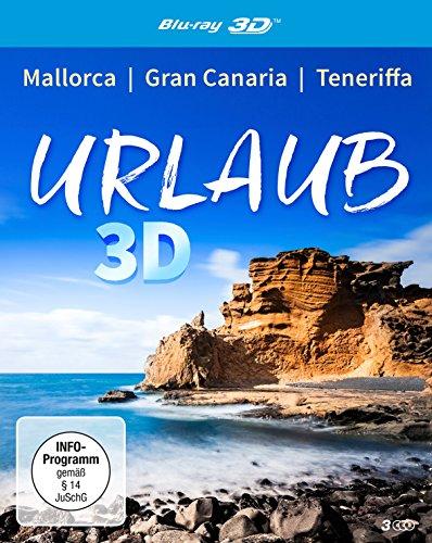 Urlaub 3D (3 x Blu-ray) Mallorca - Gran Canaria - Teneriffa