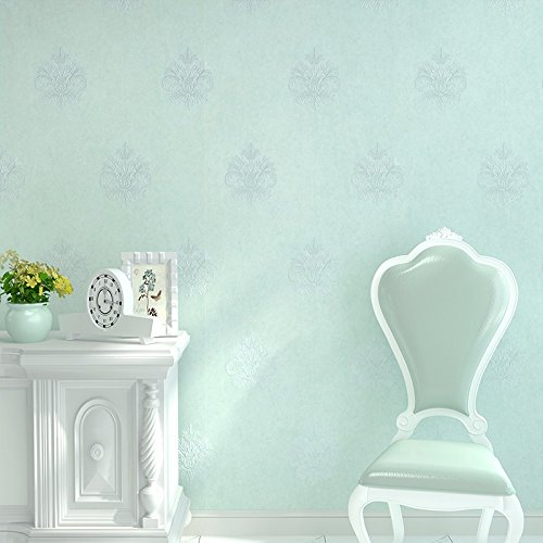 bizhi-contemporain-3d-wallpaper-art-deco-revetement-mural-sticker-papierbleu-clair