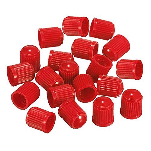 Ndier tappi di polvere Plastica Colorati della valvola del pneumatico per l' Auto, LA Moto, I carrelli, della bici E La bicicletta (PCS), rosso