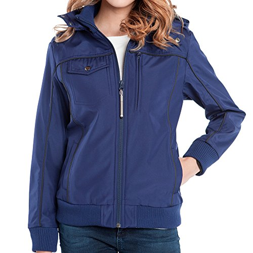 Baubax Travel Jacket - Bomber - Female - Blue - XL