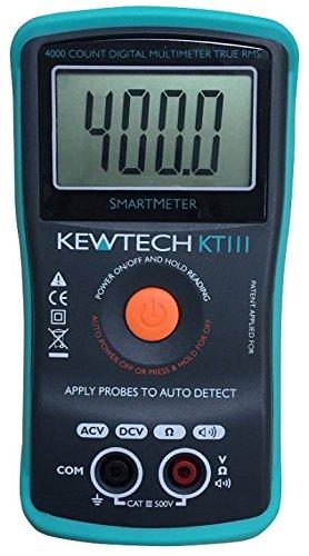 Kewtech Kt111Entièrement Automatique multimètre numérique