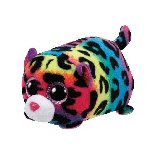 "Teeny Ty Leopard - Jelly - 10cm 4"""