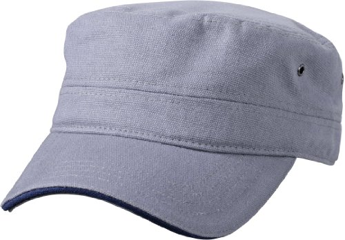 Myrtle Beach Cap Military Sandwich, dark-grey/navy, one Size, MB6555 dgre