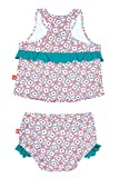 Lässig Splash & Fun 2 piece Tankini / Baby Badeanzug Set girls, L / 18 Monate, flowers