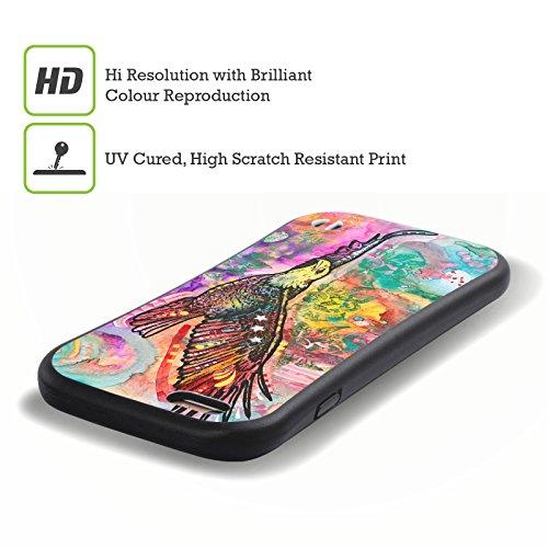 Ufficiale Dean Russo Falco Natura Selvaggia 3 Case Ibrida per Apple iPhone 7 Plus / 8 Plus Acquila