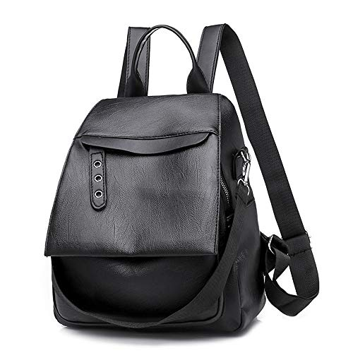 Pu Shoulder Bag Women's Bust Fashion Travel Backpack Anti-Theft Flip Mother Bag Casual Women's Bag Flip-open Cell