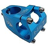 NOAH und Theo nt-st-b318–40-blue Wave Fahrrad 40mm kurzen Vorbau 28,6mm oder 1–1/20,3cm auf 31,8mm Road oder MTB Lenker