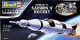Revell 04909 - Apollo Saturn V Kit di Modello in Plastica, Scala 1:144