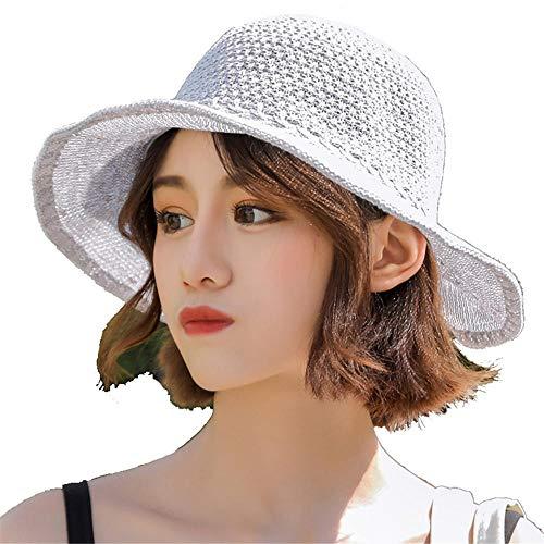 Imagen de sombrero suave respirable del pescador del visera de la protección solar de las vacaciones del mar del verano de las señoras suaves respirables