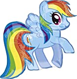 Amscan Super Shape My Little Pony Rainbow Balloon Party Accessory