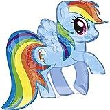 Meine kleine Pony rainbow dash Riesen Folienballon (Verkauft nicht aufgeblasenen)