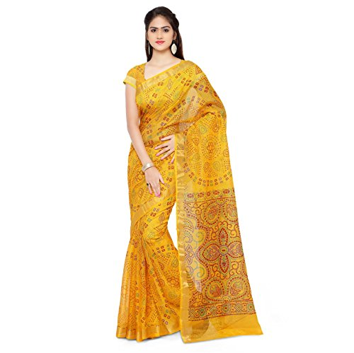 Rajnandini Cotton Saree (Joplsrs1051A_Yellow)