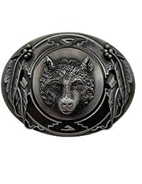 Hebilla de cinturón 3D Wolf Wild Animals Belt Buckle