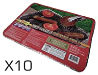 10x Standard Instant Disposable BBQ