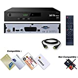 SAT-TN 7000 HD adatto per TIVUSAT Blue and GOLD card, Conax, CA, USB, HDMI, HD and Scart ricevitore satellitare