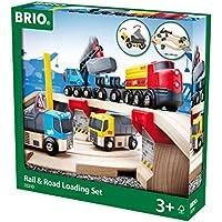 Brio 33210  - Circuito de carreterar para coches y locomotaras de juguete [Importado de Alemania]