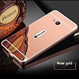 D-kandy Luxury Metal Bumper + Acrylic Mirror Back Cover Case For NOKIA MICROSOFT LUMIA 640 - ROSE GOLD Amazon