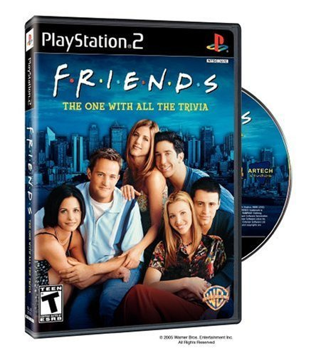 Friends: The One with All the Trivia by Warner Home - Trivia Playstation 2