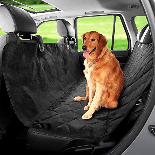 Hundedecke für auto Autoschondecke Hundedecke Auto Kofferraumschutz für Haustier Hunde und Kazten rutschfeste Kratzfest Wasserdicht Schwarz