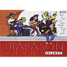 Diapason rouge volume 2 carnet de chants avec accords