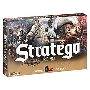juegos de estrategia: Stratego Original Niños y Adultos Estrategia - Juego de Tablero (Estrategia, Niñ...