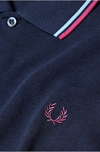Fred Perry Herren Poloshirt Dark Carbon Blue