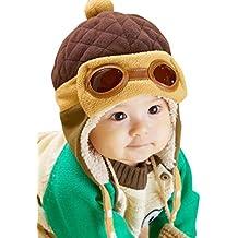 Bonnet Bébé, Hiver Chaud Déguisement   Earflap   Chapeau Pilote Crochet  Chapeaux 78a574eb76e