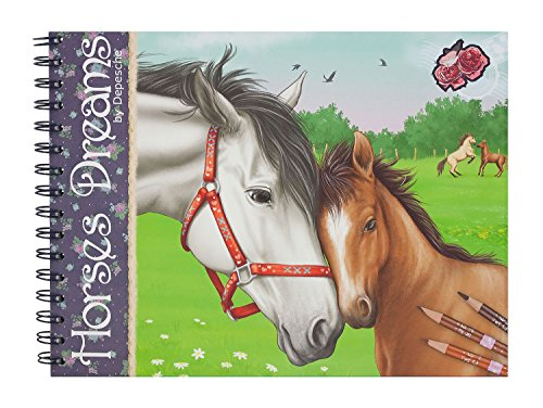 depesche-horses-dreams-colouring-book
