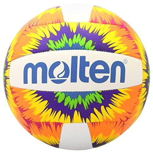 Molten Mini Volleyball, V200-NTD, Neon Tie Dye -
