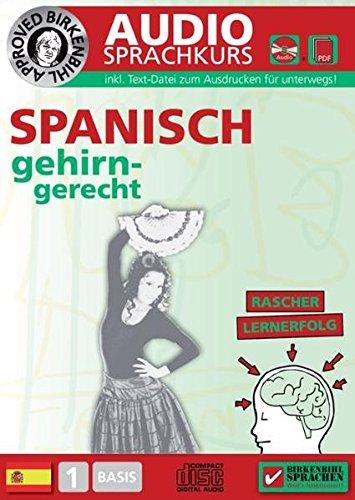 Birkenbihl Sprachen: Spanisch gehirn-gerecht, 1 Basis, Audio-Kurs Sprachen Lernen Software