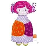 Puppe Plüsch Baby Musical Collection tchikiboum Rosalie rosa der 'Oiseau Bateau ab der Geburt