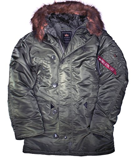 Alpha N3b, Parka Homme rep.grey