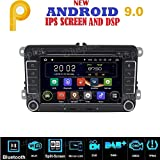 ANDROID 7.1 GPS DVD USB SD WI-FI BT autoradio 2 DIN navigatore compatibile con VW Golf 5 / Golf 6 / Passat/Jetta/Polo/Tiguan/Touran/Caddy/Sharan/Trasporter