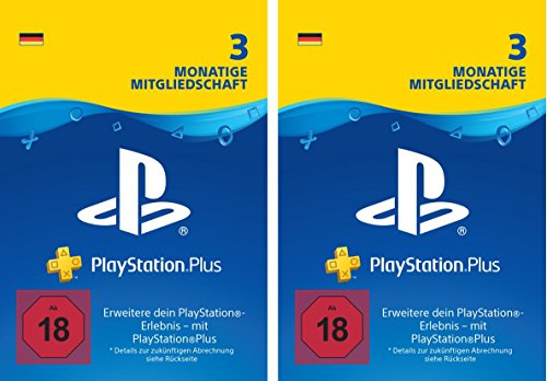 PlayStation Plus Mitgliedschaft | 6 Monate | PS4 Download Code - deutsches Konto