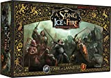Image for board game CoolMiniOrNot CMNSIF001 Thrones Stark vs Lannister Starter Set: A Song of Ice and Fire Miniatures Game Core Box, Mixed Colours