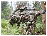 ATR Tuta da Caccia, 3D Camo, Adatta per Sniper Woodland Military Army Fucile da Caccia Caccia Air Gun Fotografia, Fives-Piece Set, Jungle Color