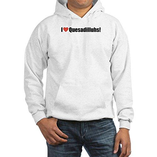 CafePress - Hooded Sweatshirt, Funny I Heart Quesadillahs! - Pullover Hoodie, Hooded Sweatshirt