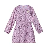 Steiff Mädchen Kleid , Violett (LAVENDER MIST 7020) , 116 (Herstellergröße:116)