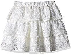 The Childrens Place Girls Skirt (2066099_Snow_10 - 11 Years)