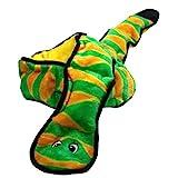 Outward Hound Kyjen 32005 Invincibles Plüschschlange ohne Füllung Strapazierfähige Hundespielzeuge