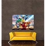 LEGO MARVEL SUPER HEROES XBOX ONE PS4 PS3 GAME PC GIANT ART PRINT AFICHE CARTEL IMPRIMIR CARTELLO POSTER OZ1081