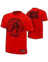 T-Shirt AJ Styles Untouchable Rot TV Authentic