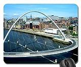 Gateshead Millennium Bridge Mouse Pad, Mousepad (Bridges Mouse Pad)